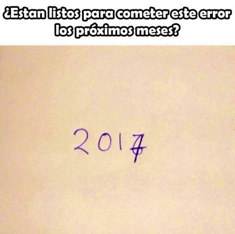 Meme_otros - Real como la vida misma en año nuevo...