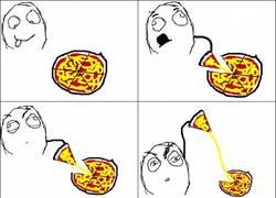 Enlace a El típico problema con la pizza