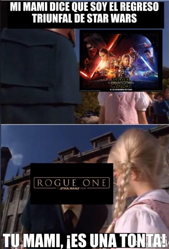 Meme_otros - El regreso triunfal de Star Wars
