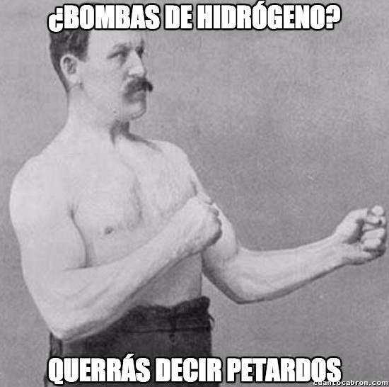 Overly_manly_man - Inmune a explosiones