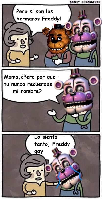 Meme_otros - Los hermanos Freddy