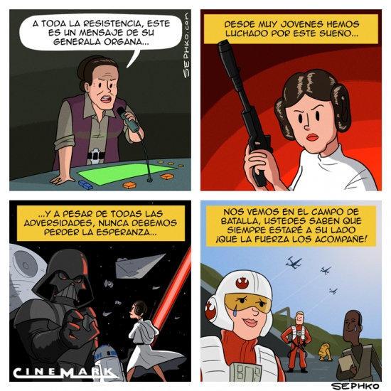 Otros - El último mensaje de la Princesa Leia