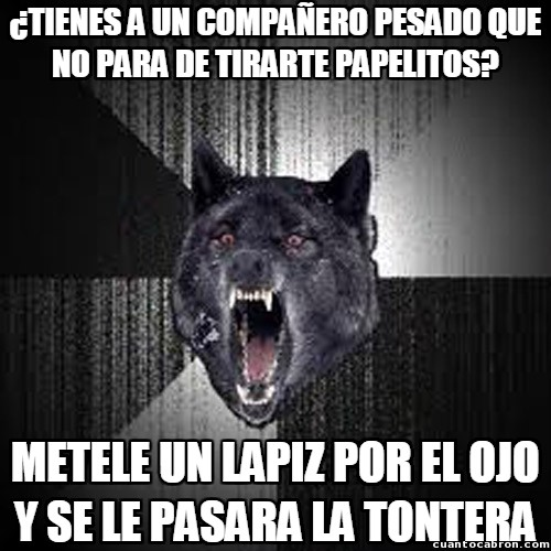 Lobo_demente - Una solución rápida