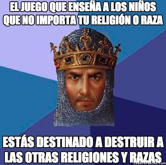 Age_of_empires - AoE: razas y religiones