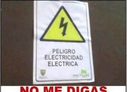 Enlace a No, pensaba que era electricidad flamígera