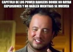 Enlace a Esos Power Rangers siempre igual