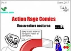Enlace a Action Rage Comics: Una aventura nocturna, ¡Dr. Troller regresa!