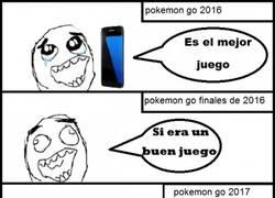 Enlace a La evolución de Pokémon Go