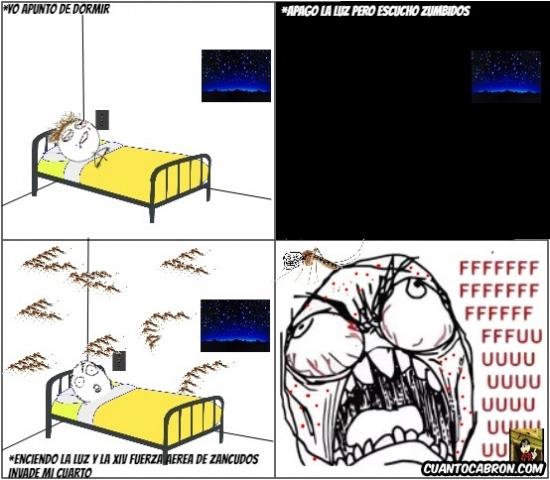 Ffffuuuuuuuuuu - Mi guerra con los mosquitos