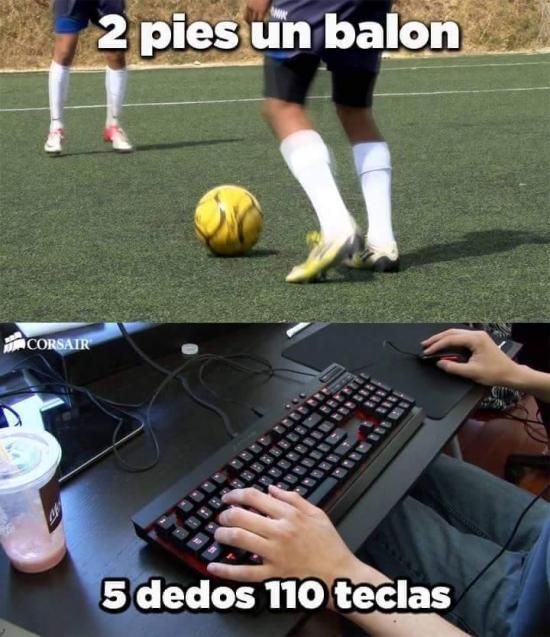 Meme_fry - Jaque mate futbolistas