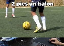 Enlace a Jaque mate futbolistas