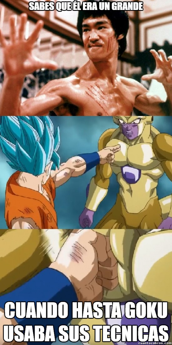Meme_otros - ¡Él si era un luchador!