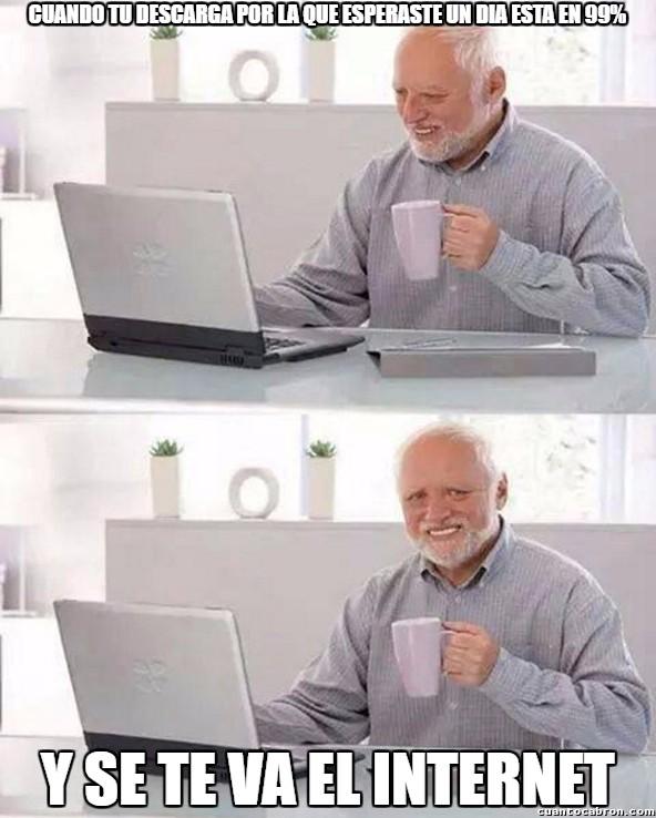 Pain_harold - Internet es el más troll