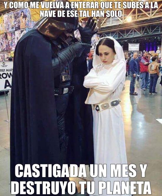 Meme_otros - Y por eso destruyeron Alderaan