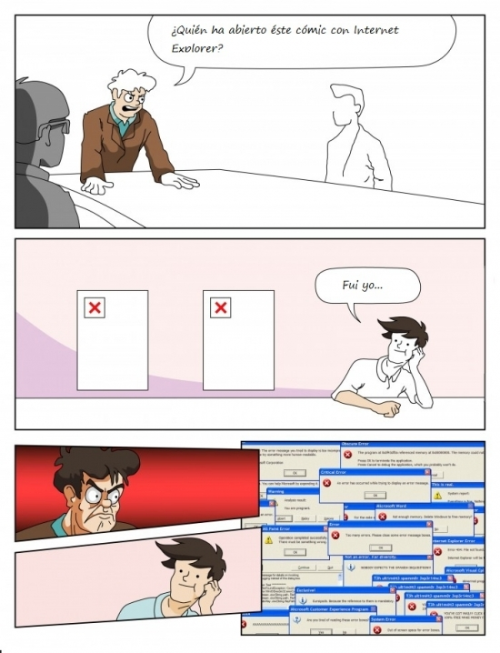 Otros - Un problema en la reunión