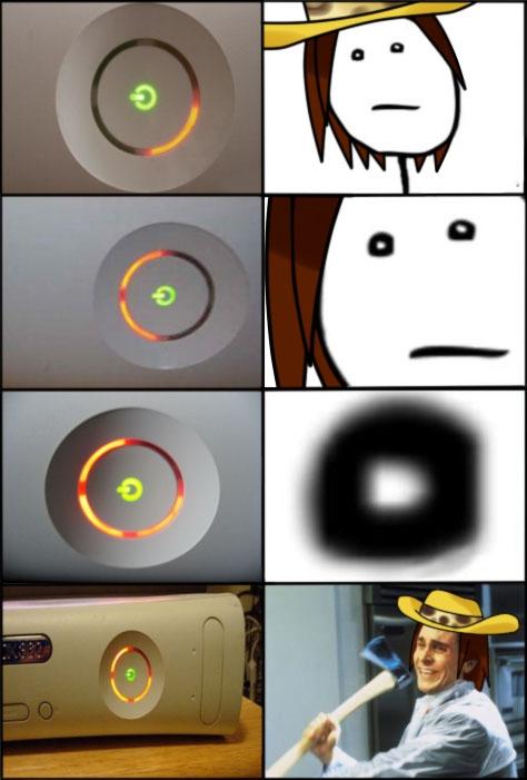 Pat_bateman - Pobre Xbox 360