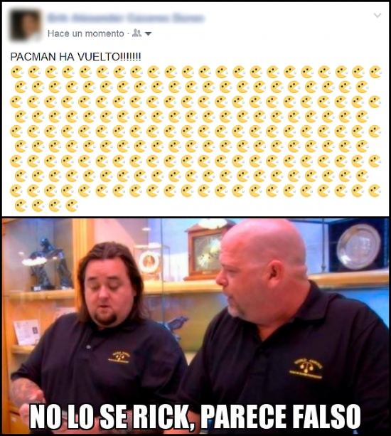 Otros - PacMan REGRESA (En Facebook)