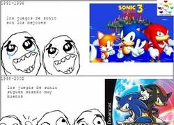 Enlace a El ciclo de vida de Sonic