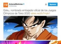 Enlace a La noticia que nos emociona a todos los fans de Dragon Ball