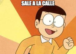 Enlace a Nobita el gafe