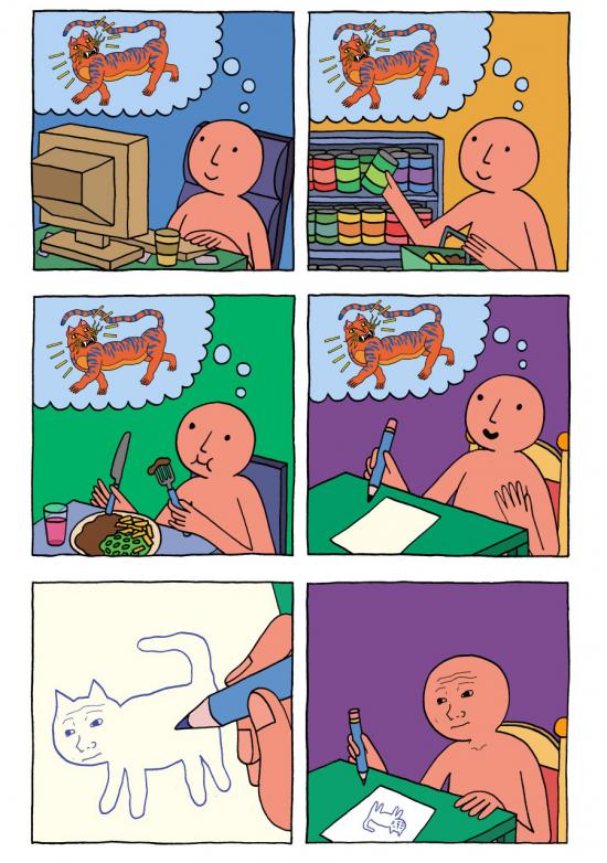 Okay - Cuando tienes ideas para viñetas pero no se te da dibujar