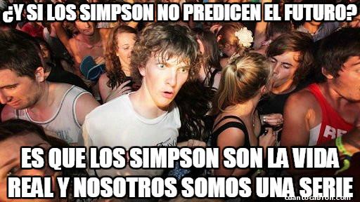 Momento_lucidez - Sobre la predicción de Los Simpson...