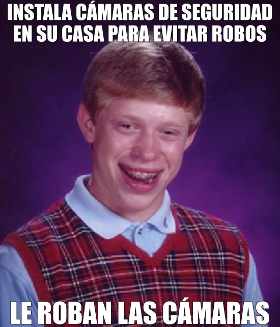 Bad_luck_brian - Qué ironía para Brian