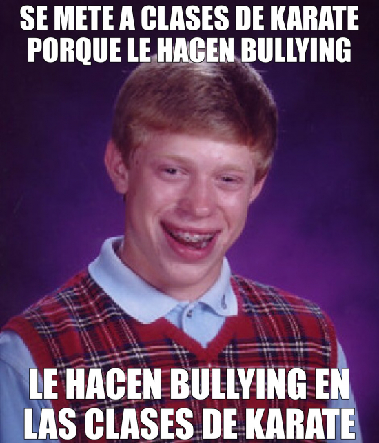 Bad_luck_brian - El bullying a Brian