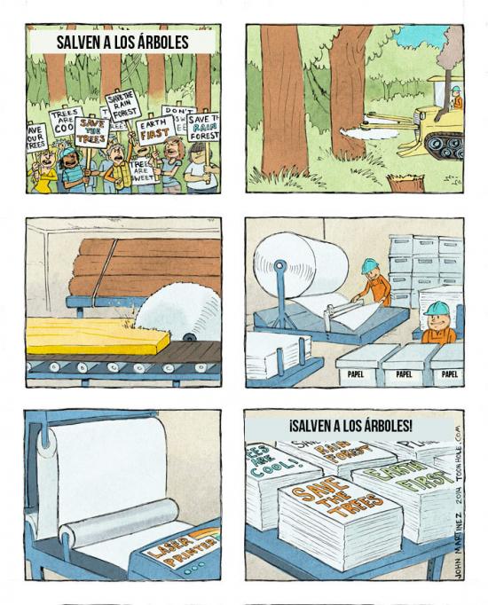 Otros - ¡Salvad los árboles!