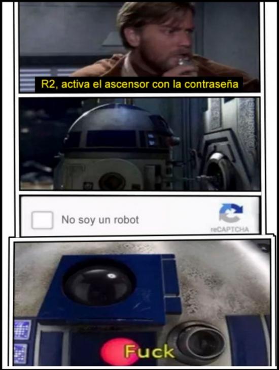 Meme_otros - R2D2 tiene un gran problema...