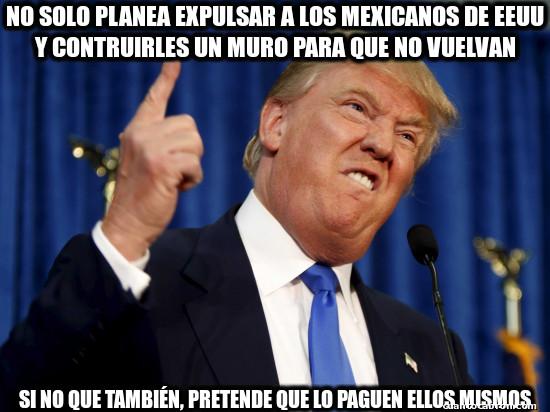 Meme_otros - Trump es diabólico