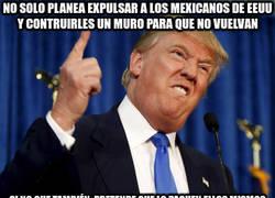 Enlace a Trump es diabólico