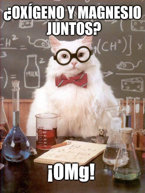 Gato_quimico - Oxígeno y Magnesio combinados