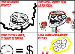 Enlace a Troll Science: Dinero en 3 pasos y 1 extra