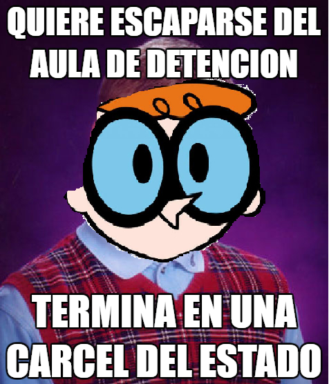 Bad_luck_brian - Bad Luck Dexter