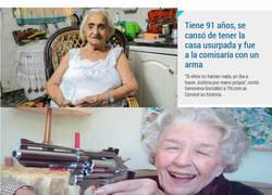 Enlace a ¡Es ella! ¡La vieja del arma!