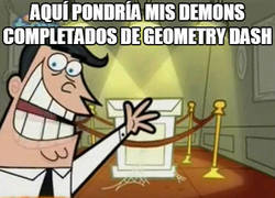 Enlace a El problema de muchos en Geometry Dash