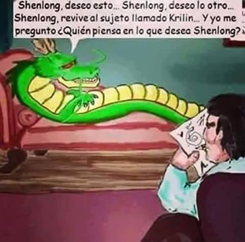 Otros - Shenlong necesitaba un psicólogo