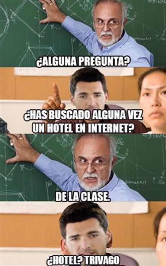 Meme_otros - Una pregunta en clase