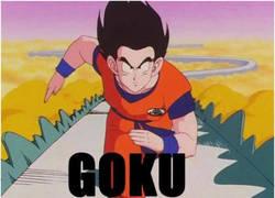 Enlace a Las dos versiones de Goku