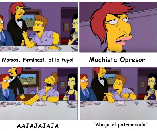 Meme_otros - Las feminazis y su discurso...