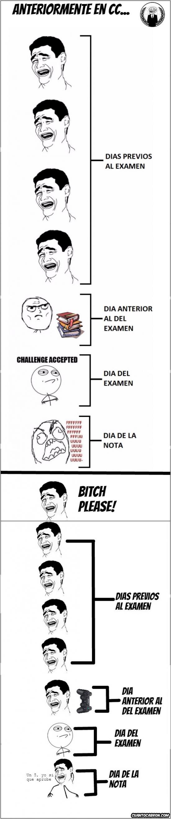Yao - Las verdaderas fases del examen