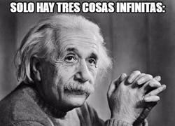 Enlace a Tres cosas infinitas...