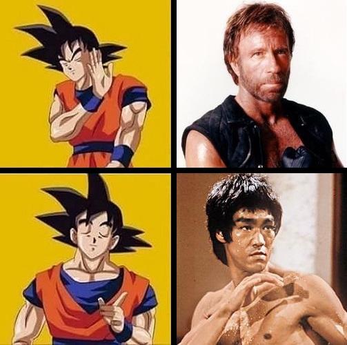 Meme_otros - Goku tiene a su favorito