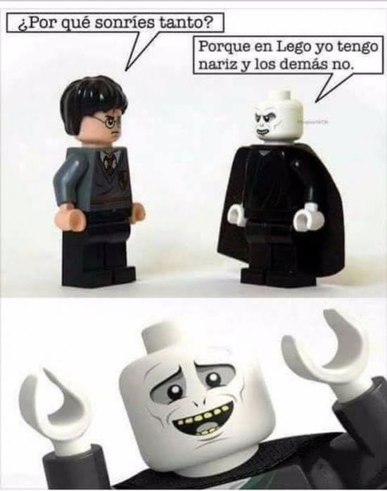 Mix - Si por Voldemort fuera todos se pasarían el día jugando a LEGO