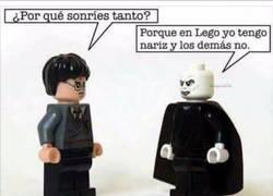 Enlace a Si por Voldemort fuera todos se pasarían el día jugando a LEGO