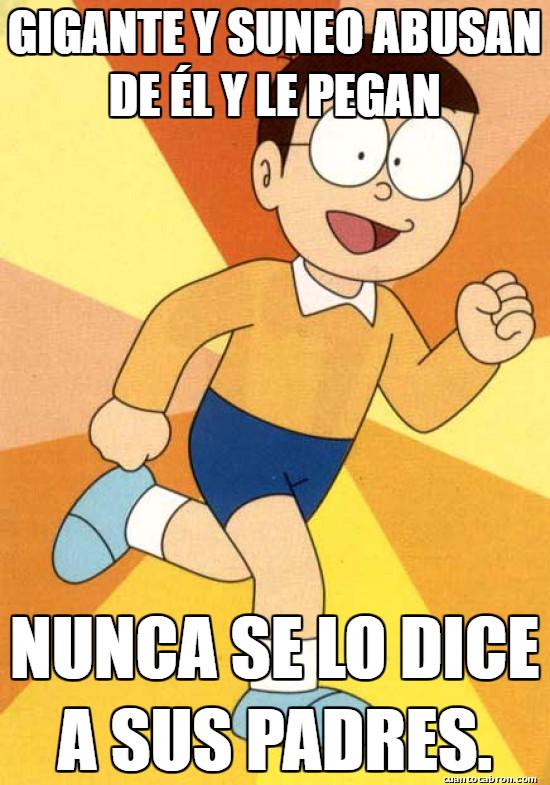 Meme_otros - Nobita es estúpido...