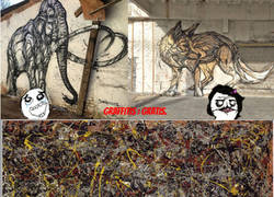 Enlace a El graffitti de los 140 millones de euros