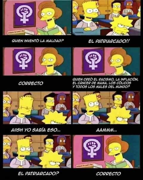 Meme_otros - ¡El patriarcado!
