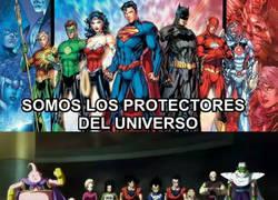 Enlace a Los verdaderos protectores del universo